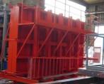 DOSSIER MOULES BALCONS-Moule balcons coulage vertical équiper de passerelle et escalier d'accés
