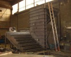 DOSSIER MOULES ESCALIERS-Moule Métallique escalier fût diamètre 200 avec mur de 1.68m
