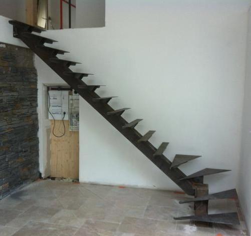 Escalier Metallique Coffrage Moule Chaudronnerie