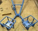 support de treuil pour tendeur de câbles