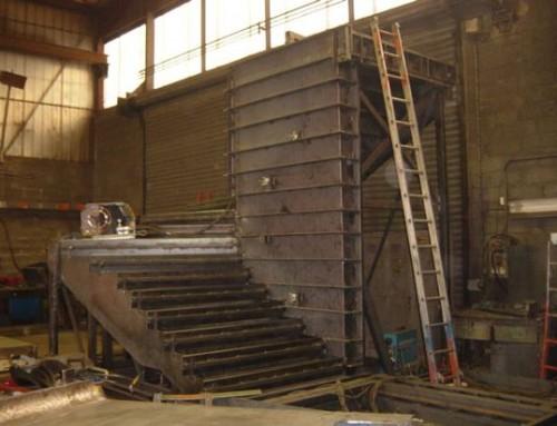 Moule escalier avec fût central